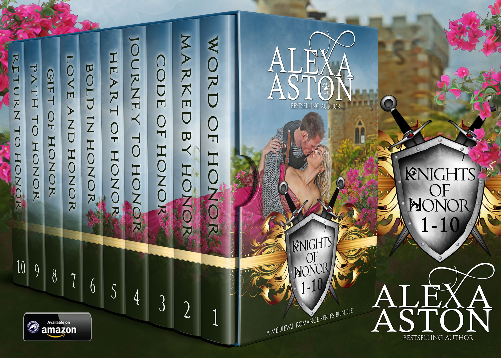 Knights of Honor Books 1-10: A Medieval Romance Series Bundle