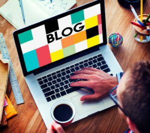 create an author blog